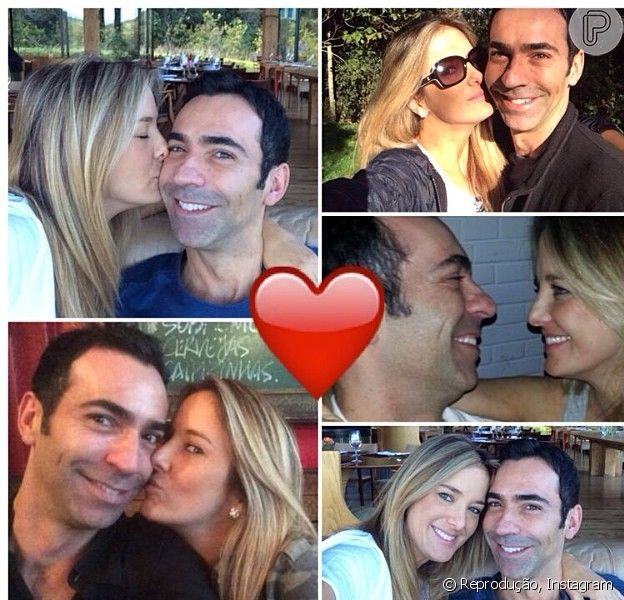 Ticiane Pinheiro faz três meses de namoro com César Tralli e se declara: 'Obrigada por me fazer tão feliz' (22 de maio de 2014)