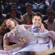 Claudia Raia e Jarbas Homem de Mello deram um show de dança apresentando parte do espetáculo que estrou no Rio de Janeiro, na segunda-feira, 20 de maio de 2014