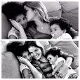 Samara Felippo está sempre grudada com suas pequenas Alicia e Lara