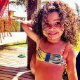 A linda Alicia, filha da atriz Samara Felippo está completando 5 anos. Parabéns!