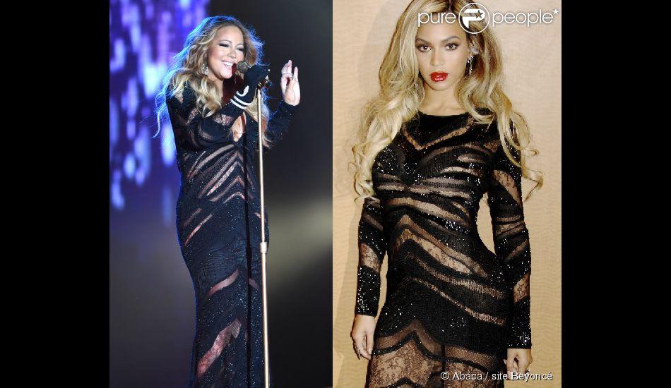 ba9d830797405 Mariah Carey repete vestido da grife Roberto Cavalli usado por ...