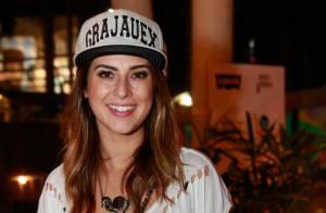 Fernanda Paes Leme e Paulinho Vilhena curtem show do rapper Criolo, no Rio