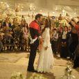 O casamento de Zyah e Ayla teve uma típica cerimônia turca, em 'Salve Jorge'