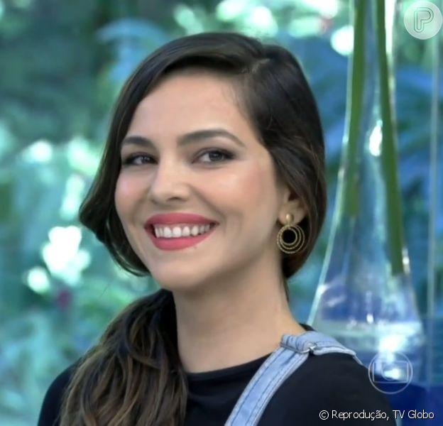 Tainá Müller foi convidada para tomar café da manhã no programa 'Mais Você', na manhã desta quinta-feira, 5 de junho de 2014