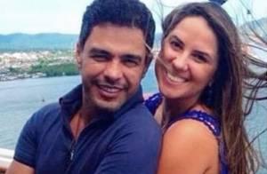 Zezé Di Camargo diz que não assumiria namoro 'enquanto não visse Zilu feliz'
