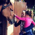 Debby Lagranha se formou em veterinária e é mãe de Duda, de 5 anos