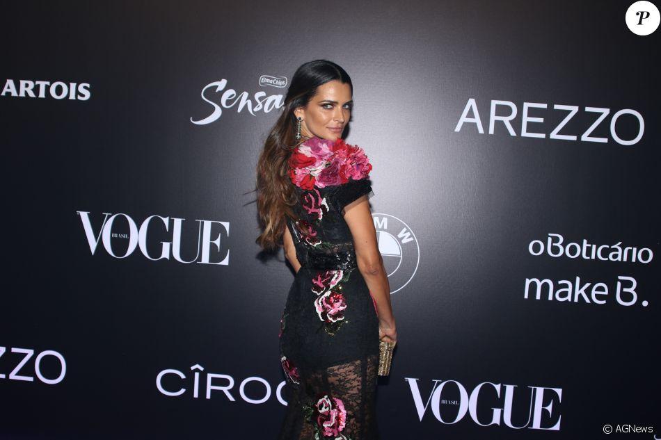 Fernanda Motta no Baile da Vogue, realizado no Hotel Unique, em São Paulo,  na noite desta quinta-feira, 1º de fevereiro de 2018 aea8357290