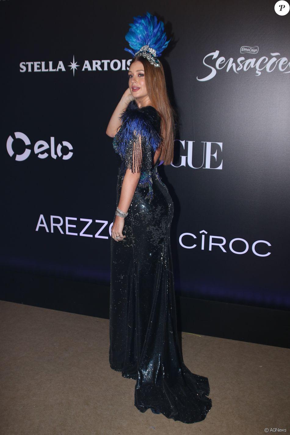 Marina Ruy Barbosa no Baile da Vogue, realizado no Hotel Unique, em São  Paulo, na noite desta quinta-feira, 1º de fevereiro de 2018 57559e7538