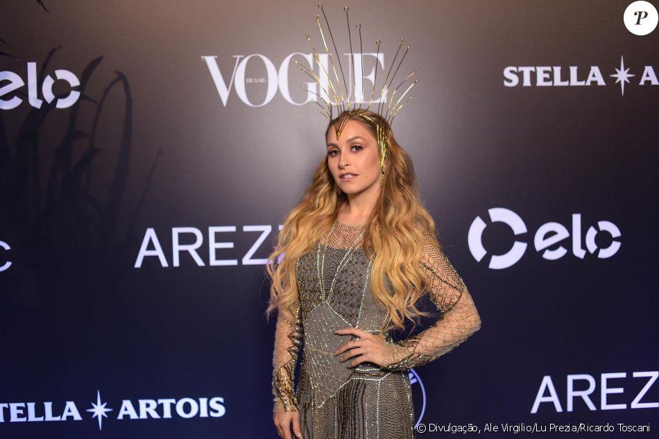 Carla Diaz no Baile da Vogue, realizado no Hotel Unique, em São Paulo, na  noite desta quinta-feira, 1º de fevereiro de 2018 23adc10f20