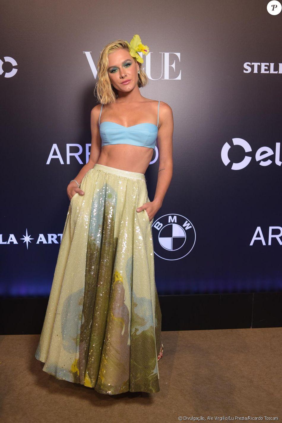 Fiorella Mattheis de Rosa Chá no Baile da Vogue, realizado no Hotel Unique,  em São Paulo, na noite desta quinta-feira, 1º de fevereiro de 2018 a8eae6b6cc