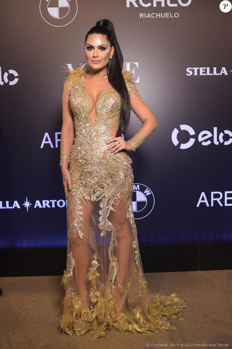 Natália Guimarães de Patricia Nascimento no Baile da Vogue, realizado no  Hotel Unique, em São Paulo, na noite desta quinta-feira, 1º de fevereiro de  2018 097c2d5ece