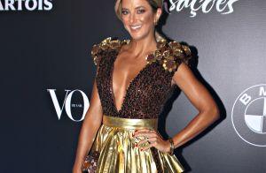 Ticiane Pinheiro 'vira' brigadeiro em baile e ganha elogio de Anitta: 'Amei'