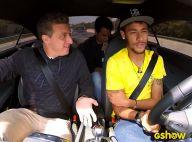 Neymar mostra mansão onde vive na Espanha para Luciano Huck: 'Aqui é tranquilo'