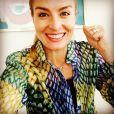 Angélica usa camisa com a cores do Brasil