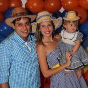 Debby Lagranha faz festa caipira para celebrar 1 ano da filha, Maria Eduarda