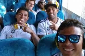 Família de Thiago Silva freta jatinho particular para assistir a jogo da Seleção