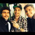 Antes de ir para Maringá, o ator também participou de uma festa de 15 anos com Felipe Titto e Bruno Gissoni na cidade de Campo Mourão, no Paraná