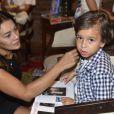 Dira Paes é mãe do pequeno Inácio, de 6 anos, fruto do seu casamento com Pablo Baião. Olha como é fofo!
