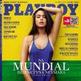 Patrícia Jordane, que garante ter vivido um romance com Neymar, é a capa da versão polonesa da Playboy. A revista chega às bancas nesta sexta-feira, 27 de junho de 2014. 'A Menina do Neymar', diz a chamada de capa