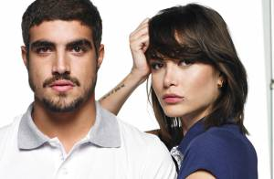 Maria Casadevall vai para a casa de Caio Castro após ator sofrer acidente