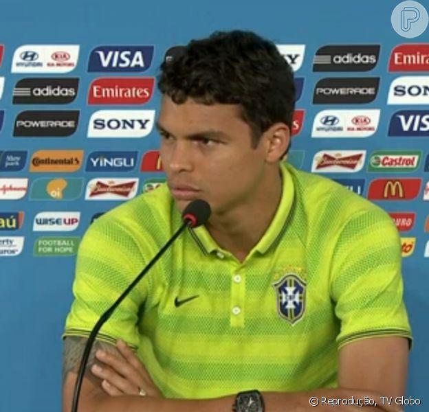Thiago Silva está confiante na vitória do Brasil contra a Colômbia: 'Sou um cara campeão', disse em 3 de julho de 2014