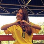 David Luiz recebe conforto da namorada após derrota do Brasil: 'Meu campeão!'