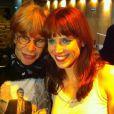 Mel Lisboa chorou quando foi prestigiada pela própria Rita Lee no teatro