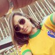 Thaíssa Carvalho acompanhou pelo Brasil as partidas jogadas pelo ex-namorado