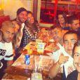 Daniel Alves jantou com Fernanda no restaurante Paris 6 após a final da Copa em São Paulo
