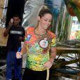Danielle Winista promete fazer bonito pela Grande Rio