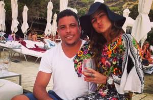Ronaldo ganha declaração de Paula Morais durante férias na Europa: 'Amo tanto'