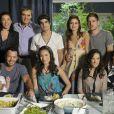 Adriana Birolli contracenou com Lilia Cabral em 'Fina Estampa', quando ela interpretou a namorada de Caio Castro, filho da veterana na trama