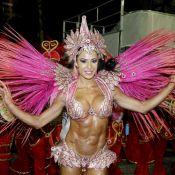 Gracyanne Barbosa vira alvo de críticas ao desfilar na Sapucaí, no Rio