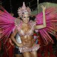 Gracyanne Barbosa também desfila como rainha de bateria da Mangueira na próxima segunda-feira (11), na Marques de Sapucaí, no Rio de Janeiro