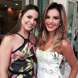 Mariana Rios apareceu ainda mais loira e bastante bronzeada