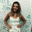 Mariana Rios marcou presença em um evento de moda em Brasília na noite de quinta-feira, 7 de agosto de 2014