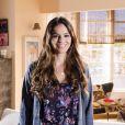 A atriz está de férias desde que terminou a sua participação na novela 'Em Família'