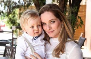 Bruna Di Tulio batiza Vicente, o seu primeiro filho: 'Ele é um anjo'