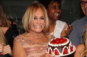 Susana Vieira comemora aniversário com Nathalia Timberg: 'Festa surpresa'