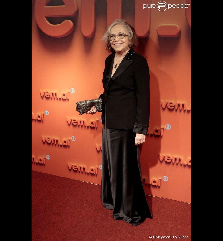 Nathalia Timberg está animada para interpretar uma homossexual na novela 'Babilônia'