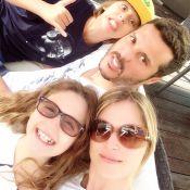 Susana Werner e Julio Cesar curtem férias em família pela Europa
