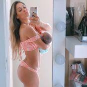 Mayra Cardi credita à alimentação corpo em forma após parto: 'Como muito'
