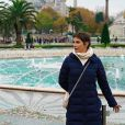 'Para Istambul, com clima frio, finalizamos com as peças mais urbanas e quentinhas', explica a stylist de Deborah Secco ao Purepeople