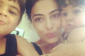 Juliana Paes curte filhos após viagem romântica pela Europa: 'A volta para casa'