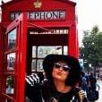 Juliana Paes se despediu de Londres no sábado, 6 de setembro