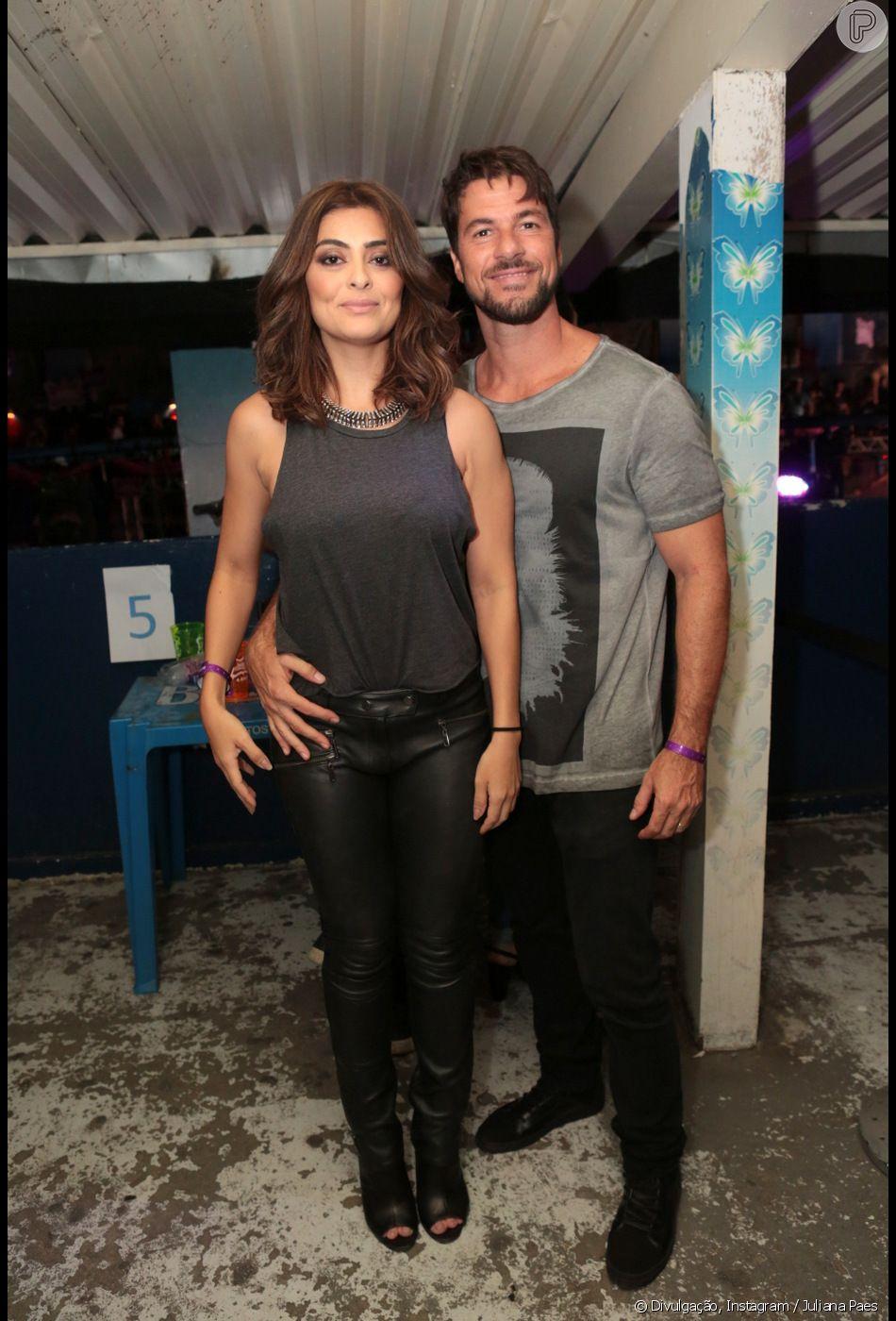 Juliana Paes recebe elogio do marido, Cardlos Eduardo Baptista em foto de lingerie, em 28 de novembro de 2018
