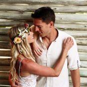 Karina Bacchi se casa com Amaury Nunes em cerimônia íntima em Alagoas