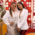 Simone e Simaria participaram da coletiva da nova temporada do 'The Voice Kids' nesta quinta-feira, 29 de novembro de 2018