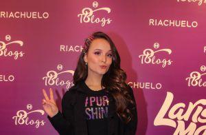 Larissa Manoela lança linha de maquiagem e causa alvoroço em evento