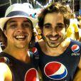 Fiuk e Guilherme Boury se divertem na Bahia